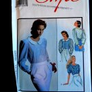 Style Pattern # 1575 UNCUT Misses Blouse Sleeve Variations Size 8 10 12