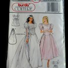 Burda Couture Pattern # 4816 UNCUT Misses Bridal Gown Bridesmaid Formal Dress Size 8 10 12 14 16 18