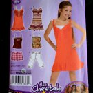 Simplicity Pattern # 2914 UNCUT Girls Shorts Knit Top or Dress Size 8 10 12 14 16