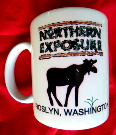 Unique TV's Northern Exposure Ceramic Mug Roslyn Washington Ruth Anne�s General Store