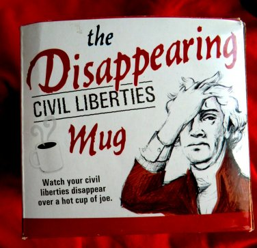 Vanishing Bill Of Rights Ceramic Coffee Mug United States Constitution