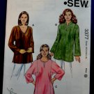 Kwik Sew Pattern # 3377 UNCUT Tunic Top Size XS Small Medium Large XL