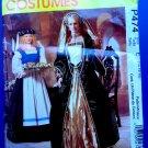 McCalls Pattern # P 474 UNCUT Misses Renaissance Costume Size 14 16 18