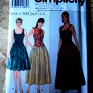 Simplicity Pattern # 7935 UNCUT Misses Top Skirt Special Occasion Size 12 14 16