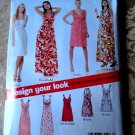 New Look Pattern # 6774 Uncut Misses Summer Dress Variations Size 10 12 14 16 18 20 22
