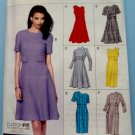 Vogue Pattern #8828 UNCUT Misses Lined Dress Size 6 8 10 12 14