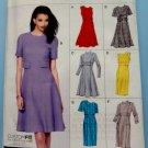 Vogue Pattern #8828 UNCUT Misses Lined Dress Size 6 8 10 12 14