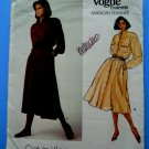 Vogue Pattern # 1442 UNCUT Dress Size 10 ONLY Calvin Klein