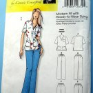Butterick Pattern # 5301 UNCUT Misses Womans Scrubs Top Pants Size XXL 1X 2X 3X 4X 5X 6X