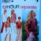 Simplicity Pattern # 9518 Misses Summer Top Shirt Pants Size Large XL