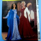 McCalls Pattern # 3653 UNCUT Misses Renaissance Costume Medieval Dress Gown Camelot Size 6 8 10 12