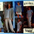 Vogue Pattern # 1545 UNCUT Misses Wardrobe Jacket Dress Top Skirt Pants Size 12 14 16