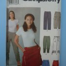Simplicity Pattern # 5102 UNCUT Misses Pants Mini Skirt Size 12 14 16 18