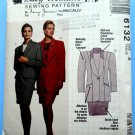 McCalls Pattern # 6132 UNCUT Misses Lined Jacket Top Lined Skirt Size 8 ONLY Busy Woman's
