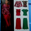 New Look Pattern # 6438 UNCUT Misses Top Skirt Size 8 10 12 14 16 18