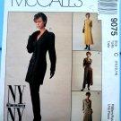 McCalls Pattern # 9075 UNCUT Misses Unlined Jacket Dress Pants Size 10 12 14