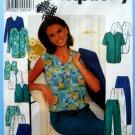 Simplicity Pattern # 7503 UNCUT Misses Top Jacket Vest Shorts Pants Size 14 16 18