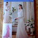 Simplicity Pattern # 1909 UNCUT Misses Bridal Evening Gown Size 6 8 10 12 14
