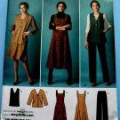 Simplicity Pattern # 2539 UNCUT Misses Misses Jumper , Pants and Jacket or Vest. Size 10 12 14 16 18