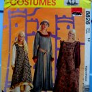 McCalls Pattern # 8826 UNCUT Girls Medieval Costume Size 14 ONLY 32 Inch Bust