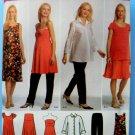 Simplicity Pattern # 4704 UNCUT Maternity Wardrobe Dress Shirt Top Pants Size 14 16 18 20 22