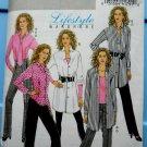 Butterick Pattern # 5102 UNCUT Misses Shirt (Long /Short) Pants Tie Size 16 18 20 22 24