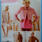 Simplicity Pattern # 3523 UNCUT Misses Top or Jacket Dress Slim Pants Size 6 8 10 12 14