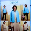 Butterick Pattern # 4817 UNCUT Misses Wardrobe Jacket Vest Top Skirt Pants Size 18 20 22 24