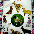 Simplicity Pattern #  9520 UNCUT Dog Clothes Coats Size Large