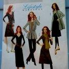Butterick Pattern # 5398 UNCUT Misses Wardrobe STRETCH KNIT ONLY Top Dress Pants Size Large XL XXL