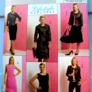 Butterick Pattern # 5147 UNCUT Misses Wardrobe Jacket  Top Dress Skirt Size 16 18 20 22 24