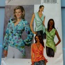 Butterick Pattern # 4395 UNCUT Misses Blouse Sleeve Variations Size 16 18 20 22
