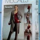 McCalls Pattern # 5533 UNCUT Misses STRETCH KNITS ONLY Jacket Top Dress Pants Size 12 14 16 18 20