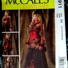 McCalls Pattern #6911 UNCUT Misses Costume Steampunk Bolero Corset Skirt Bustle 14 16 18 20 22