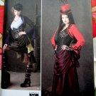 Simplicity Pattern #1819 UNCUT Steampunk or Goth Costume  Size 14 16 18 20 22
