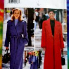 Butterick Pattern # 4666 UNCUT Misses Long Trench Coat & Pants Size 6 8 10