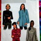 Butterick Pattern # 4294 UNCUT Misses Jacket Neckline Variations Size 8 10 12 14