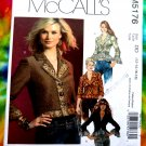 McCalls Pattern # 5176 UNCUT Misses Jacket Sleeve Variations Size 12 14 16 18