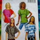 Butterick Pattern # 5753 UNCUT Misses Summer Top Size XS (Extra Small) Small and Medium