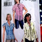 Vogue Pattern # 7935 UNCUT Misses Blouse Sleeve Neckline Variations Size 18 20 22