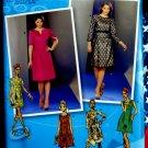 Simplicity Pattern # 1754 UNCUT Misses Dress Project Runway Size 4 6 8 10 12