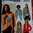 Butterick  Pattern # 5789 UNCUT Misses Vest Jacket STRETCH KNITS ONLY Size SX Small Medium