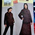 Vogue Pattern # 7771 UNCUT Misses Tunic Skirt Pants Size Large XL Bust