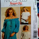 McCalls Pattern # 5401 UNCUT Misses Tunic/Top Size 10 12 14 16 18