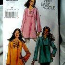 Vogue Pattern # 8117 UNCUT Misses Tunic Size 8 10 12 14