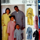 Simplicity Pattern # 5931 UNCUT Kids Mens Womans Robe Belt Size Small Medium Large XL