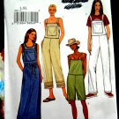 Butterick Pattern # 3853 UNCUT Misses Jumper Overalls Size Large XL