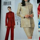 Vogue Pattern # 7662 UNCUT Misses Jacket Skirt Pants Size 8 10 12