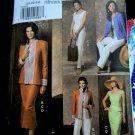 Vogue Pattern # 8209 UNCUT Misses Jacket Top Skirt Pants Five Easy Pieces Size 20 22 24