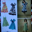 Simplicity Pattern # 3745 UNCUT Misses Summer Dress Size 14 16 18 20 22